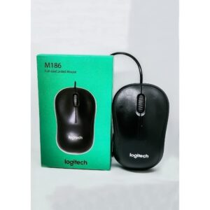 Logitech M186 Wired Mouse