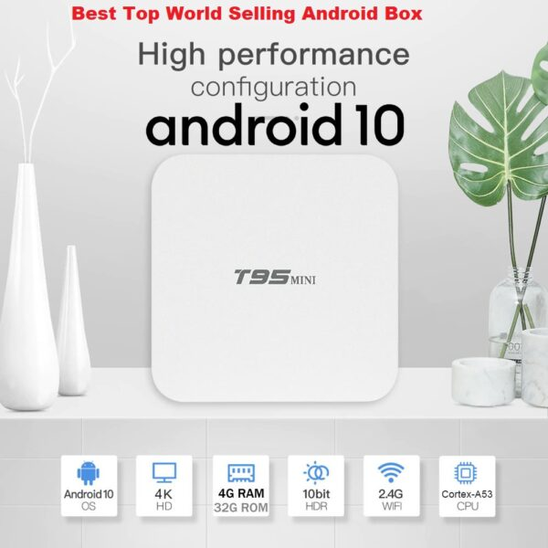 Android TV BOX Android 10.0 BOX H313